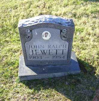 JEWETT, JOHN RALPH - Scioto County, Ohio   JOHN RALPH JEWETT - Ohio Gravestone Photos