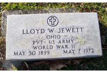 JEWETT, LLOYD W. - Scioto County, Ohio   LLOYD W. JEWETT - Ohio Gravestone Photos