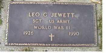 JEWETT, LEO G. - Scioto County, Ohio   LEO G. JEWETT - Ohio Gravestone Photos