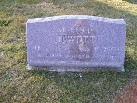 JEWETT, STEVEN D. - Scioto County, Ohio | STEVEN D. JEWETT - Ohio Gravestone Photos