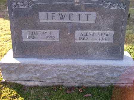 DEER JEWETT, ALENA - Scioto County, Ohio   ALENA DEER JEWETT - Ohio Gravestone Photos