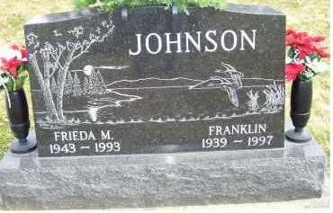 JOHNSON, FRIEDA M. - Scioto County, Ohio   FRIEDA M. JOHNSON - Ohio Gravestone Photos