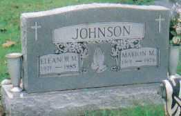 JOHNSON, ELEANOR M. - Scioto County, Ohio | ELEANOR M. JOHNSON - Ohio Gravestone Photos