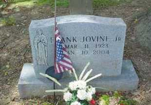 JOVINE, FRANK JR. - Scioto County, Ohio | FRANK JR. JOVINE - Ohio Gravestone Photos