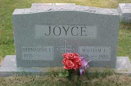 JOYCE, WILLIAM J. - Scioto County, Ohio | WILLIAM J. JOYCE - Ohio Gravestone Photos