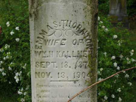 KALLNER, WM. H. - Scioto County, Ohio | WM. H. KALLNER - Ohio Gravestone Photos