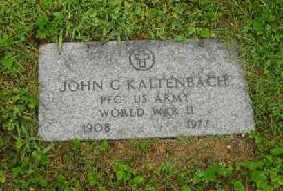 KALTENBACH, JOHN G. - Scioto County, Ohio | JOHN G. KALTENBACH - Ohio Gravestone Photos