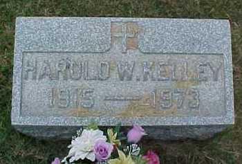 KELLY, HAROLD W. - Scioto County, Ohio   HAROLD W. KELLY - Ohio Gravestone Photos