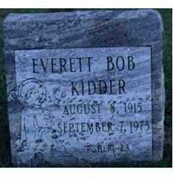 KIDDER, EVERETT BOB - Scioto County, Ohio | EVERETT BOB KIDDER - Ohio Gravestone Photos