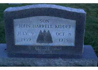 KIDDER, JOHN HARRELL - Scioto County, Ohio | JOHN HARRELL KIDDER - Ohio Gravestone Photos