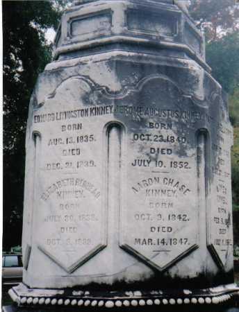 KINNEY, EDMOND LIVINGSTON - Scioto County, Ohio | EDMOND LIVINGSTON KINNEY - Ohio Gravestone Photos