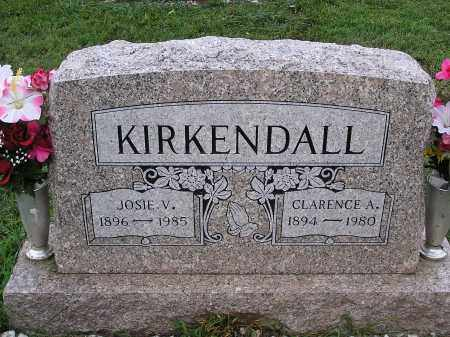 "JONES KIRKENDALL, JOSIE ""JOANNA"" - Scioto County, Ohio 