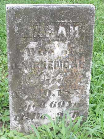 CAMPBELL KIRKENDALL, SARAH - Scioto County, Ohio | SARAH CAMPBELL KIRKENDALL - Ohio Gravestone Photos