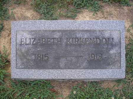 SHELPMAN KIRKENDOLL (KIRKENDAL, ELIZABETH - Scioto County, Ohio | ELIZABETH SHELPMAN KIRKENDOLL (KIRKENDAL - Ohio Gravestone Photos