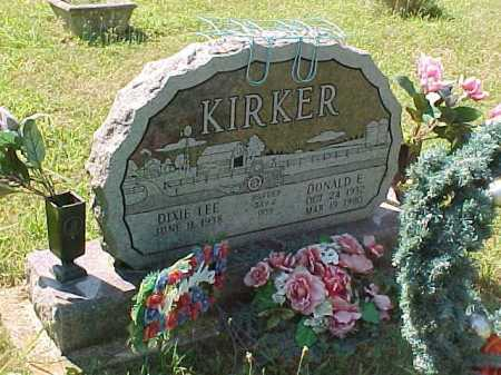 ADAMS KIRKER, DIXIE LEE - Scioto County, Ohio | DIXIE LEE ADAMS KIRKER - Ohio Gravestone Photos