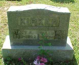 KIRKER, TACY A. - Scioto County, Ohio | TACY A. KIRKER - Ohio Gravestone Photos