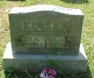 FOSTER KIRKER, TACY A. - Scioto County, Ohio | TACY A. FOSTER KIRKER - Ohio Gravestone Photos