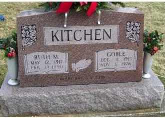 KITCHEN, GOBLE - Scioto County, Ohio | GOBLE KITCHEN - Ohio Gravestone Photos