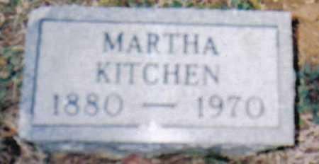 KITCHEN, MARTHA - Scioto County, Ohio | MARTHA KITCHEN - Ohio Gravestone Photos