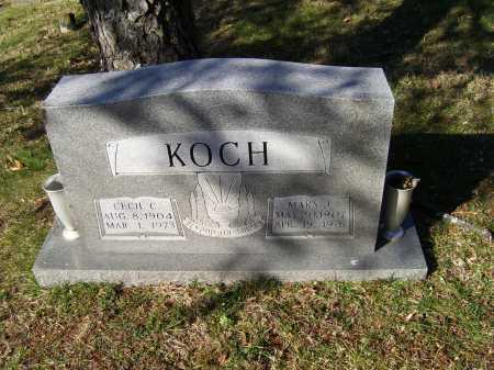 KOCH, MARY J. - Scioto County, Ohio | MARY J. KOCH - Ohio Gravestone Photos
