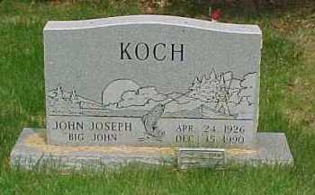 KOCH, JOHN JOSEPH - Scioto County, Ohio   JOHN JOSEPH KOCH - Ohio Gravestone Photos