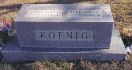 KOENIG, CLYDE EDWARD - Scioto County, Ohio | CLYDE EDWARD KOENIG - Ohio Gravestone Photos
