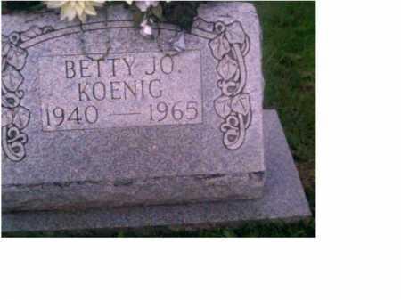 MOORE KOENIG, BETTY JO - Scioto County, Ohio | BETTY JO MOORE KOENIG - Ohio Gravestone Photos