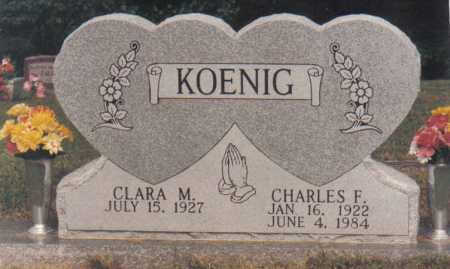 KOENIG, CHARLES F. - Scioto County, Ohio | CHARLES F. KOENIG - Ohio Gravestone Photos