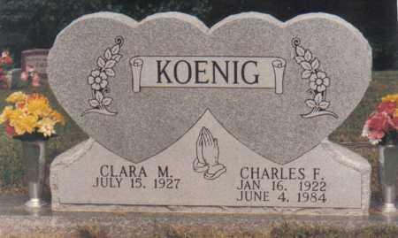 KOENIG, CLARA M. - Scioto County, Ohio | CLARA M. KOENIG - Ohio Gravestone Photos