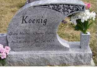 JEWETT KOENIG, GLADYS MAXINE - Scioto County, Ohio | GLADYS MAXINE JEWETT KOENIG - Ohio Gravestone Photos