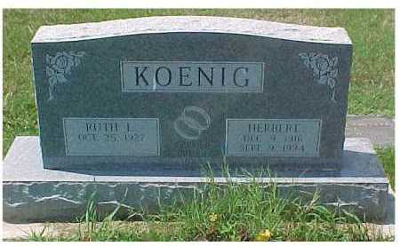 KOENIG, RUTH - Scioto County, Ohio | RUTH KOENIG - Ohio Gravestone Photos