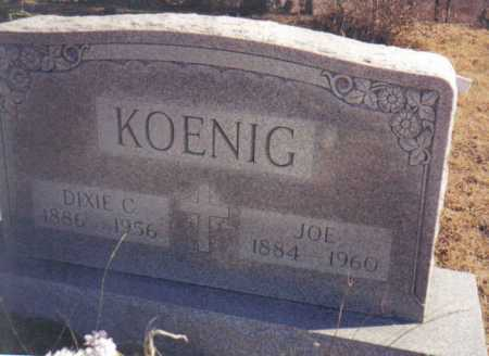KOENIG, DIXIE C. - Scioto County, Ohio | DIXIE C. KOENIG - Ohio Gravestone Photos