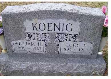 KOENIG, WILLIAM H. - Scioto County, Ohio | WILLIAM H. KOENIG - Ohio Gravestone Photos