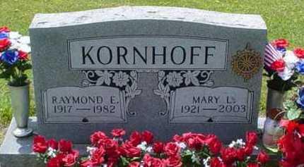 KORNHOFF, RAYMOND E. - Scioto County, Ohio | RAYMOND E. KORNHOFF - Ohio Gravestone Photos