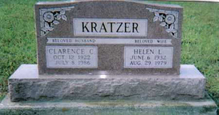 KRATZER, HELEN L. - Scioto County, Ohio | HELEN L. KRATZER - Ohio Gravestone Photos