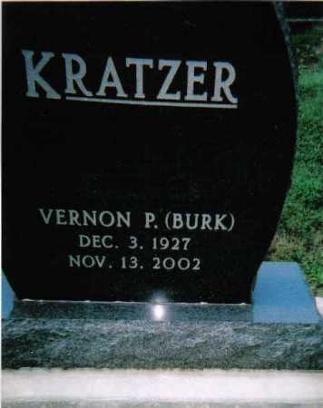 KRATZER, VERNON P. - Scioto County, Ohio   VERNON P. KRATZER - Ohio Gravestone Photos