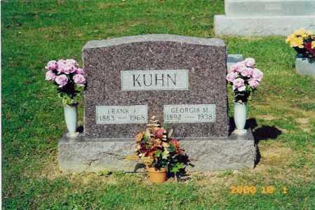 CANNADAY KUHN, GEORGIA MARIE - Scioto County, Ohio | GEORGIA MARIE CANNADAY KUHN - Ohio Gravestone Photos