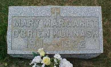 O'BRIEN KUHNASH, MARY MARGARET - Scioto County, Ohio   MARY MARGARET O'BRIEN KUHNASH - Ohio Gravestone Photos