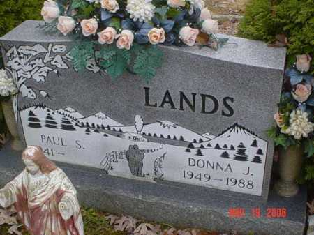 LANDS, PAUL S. - Scioto County, Ohio | PAUL S. LANDS - Ohio Gravestone Photos