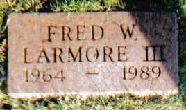 LARMORE, FRED W. III - Scioto County, Ohio   FRED W. III LARMORE - Ohio Gravestone Photos