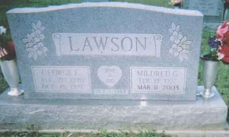 LAWSON, MILDRED G. - Scioto County, Ohio | MILDRED G. LAWSON - Ohio Gravestone Photos