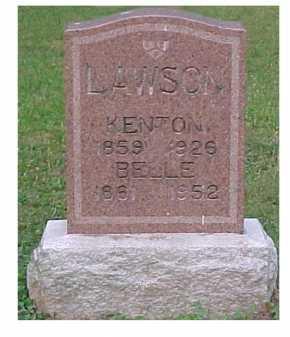 LAWSON, BELLE - Scioto County, Ohio | BELLE LAWSON - Ohio Gravestone Photos