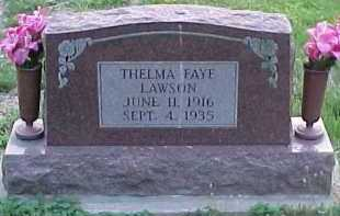 LAWSON, THELMA FAYE - Scioto County, Ohio | THELMA FAYE LAWSON - Ohio Gravestone Photos