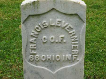 LEVERNIER, FRANCIS - Scioto County, Ohio | FRANCIS LEVERNIER - Ohio Gravestone Photos