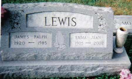 LEWIS, JAMES RALPH - Scioto County, Ohio | JAMES RALPH LEWIS - Ohio Gravestone Photos