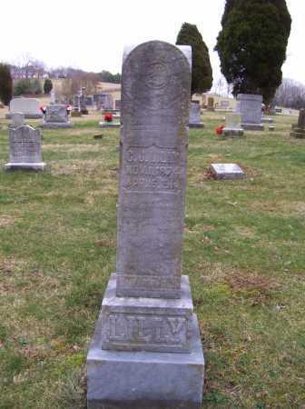 LILLY, C. J. - Scioto County, Ohio | C. J. LILLY - Ohio Gravestone Photos