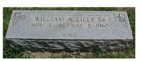 LILLY, WILLIAM A. SR. - Scioto County, Ohio   WILLIAM A. SR. LILLY - Ohio Gravestone Photos
