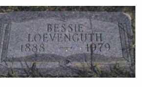 LOEVENGUTH, BESSIE - Scioto County, Ohio   BESSIE LOEVENGUTH - Ohio Gravestone Photos
