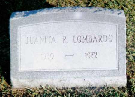 LOMBARDO, JUANITA R. - Scioto County, Ohio | JUANITA R. LOMBARDO - Ohio Gravestone Photos