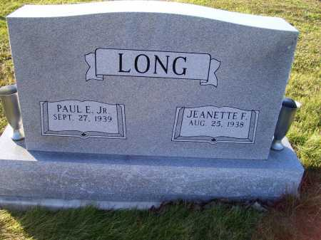 LONG, PAUL E. JR. - Scioto County, Ohio | PAUL E. JR. LONG - Ohio Gravestone Photos
